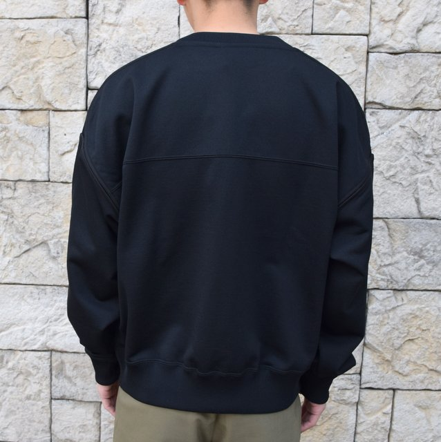 【2020 SS】YOKE(ヨーク)/OVERSIZED PIPING SWEAT -3色展開- #YK20SS0107CS(4)