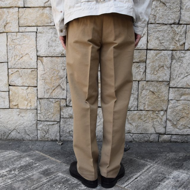 【2020 SS】KAPTAIN SUNSHINE / Wide Chino Trousers KS20SPT07(4)