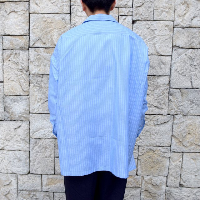 【30% off sale】【2020】MAATEE&SONS(マーティーアンドサンズ)/ ''DAVID&JOHN ANERSON'' OPEN COLLAR SHIRT -2色展開- #MT0103-0607A(4)