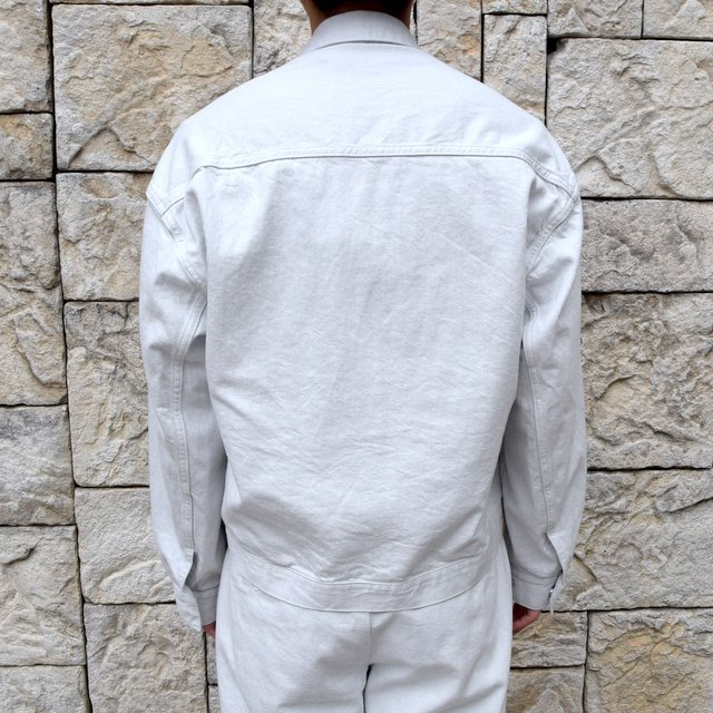 【2020 SS】YOKE(ヨーク)/ WIDE DENIM BLOUSON -2色展開- #YK20SS0104B(4)