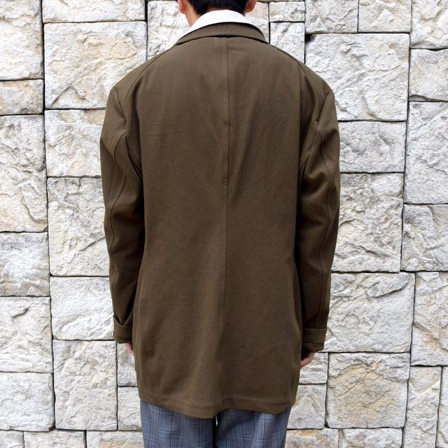 【2020 SS】HOMELESS TAILOR(ホームレステイラー)/ STEAL PK JACKET -KHAKI- #HTKS-002(4)