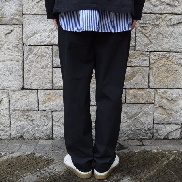 【2020 SS】 A VONTADE(ア ボンタージ)/ COMFORT WIDE EASY TROUSERS -BLack- #VTD-0423-PT(4)
