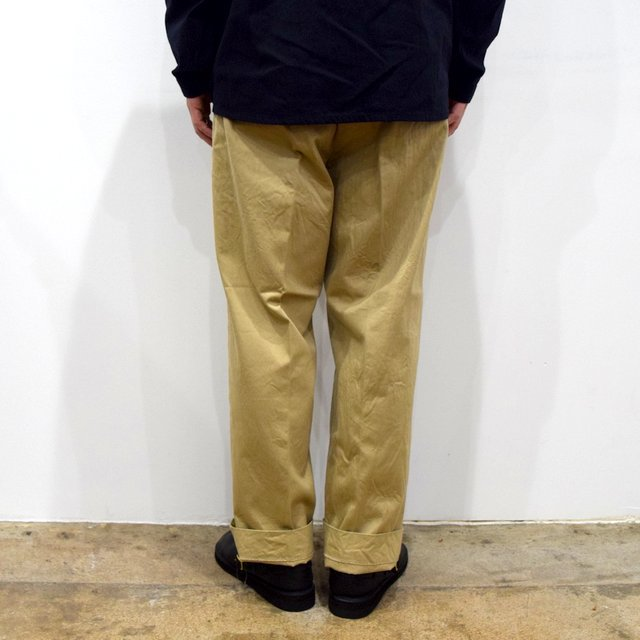 【2020】YAECA (ヤエカ)/ CHINO CLOTH PANTS CREASED -KHAKI- #10605(4)