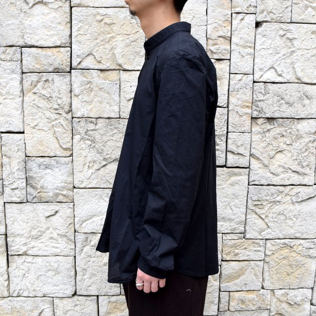 【2020】 toogood(トゥーグッド)/ THE BOTANIST SHIRT POPLIN -FLINT- (4)