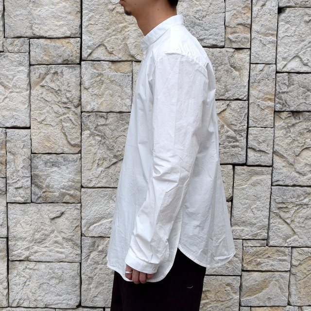 【2020】 toogood(トゥーグッド)/ THE BOTANIST SHIRT POPLIN -CHALK- (4)