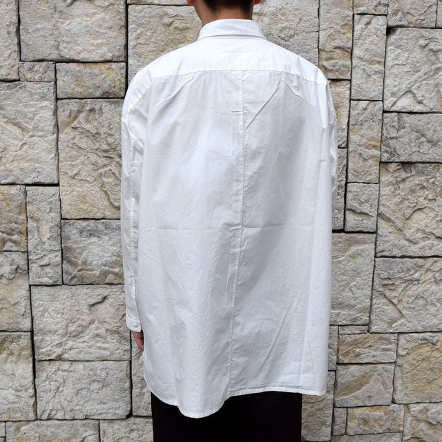 【2020】 toogood(トゥーグッド)/ THE DRAUGHTSMAN SHIRT POPLIN -CHALK- (4)