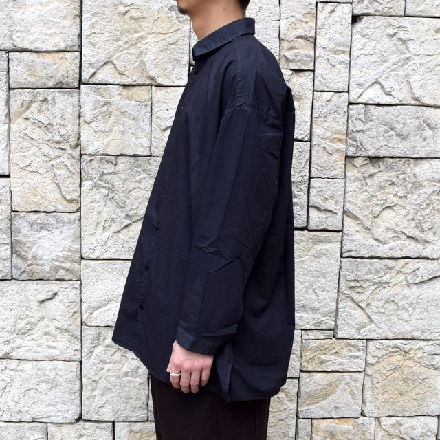 【2020】 toogood(トゥーグッド)/ THE DRAUGHTSMAN SHIRT POPLIN -FLINT- (4)