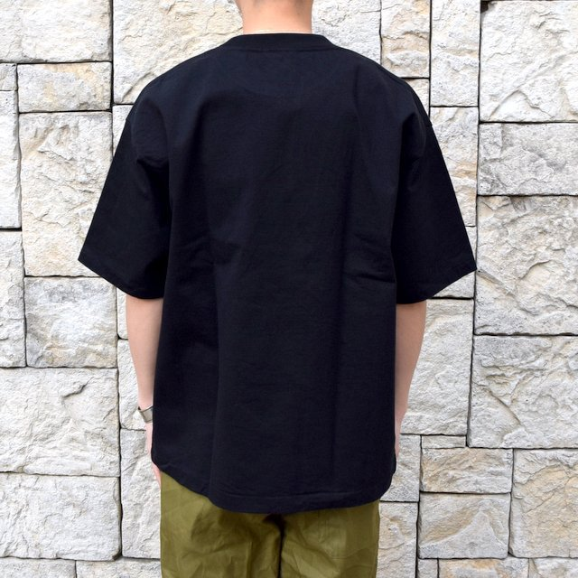 【2020 SS】AURALEE(オーラリー)/ STAND UP TEE -BLACK- #A20ST01SU(4)