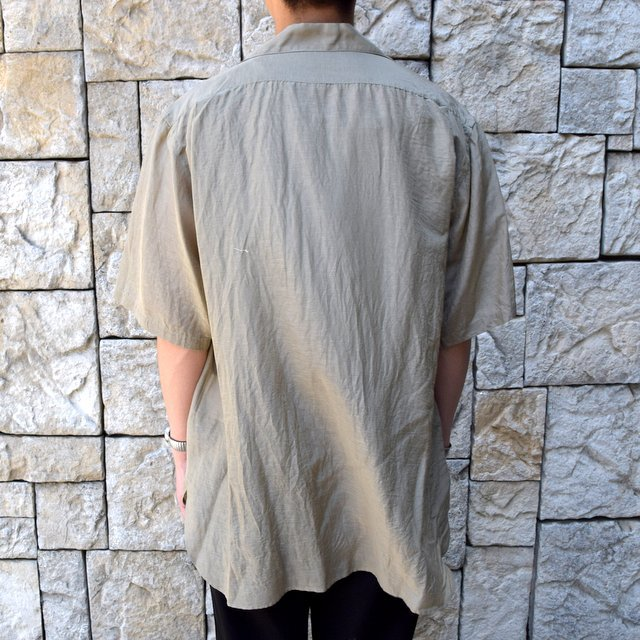 【30% off sale】【2020】KAPTAIN SUNSHINE (キャプテンサンシャイン)/ RIVIERA S/S SHIRT -KHAKI- #KS20SSH04(4)