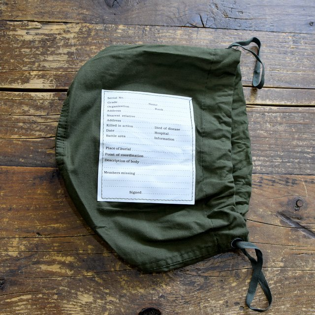 Dead Stock(デッドストック)/ PERSONAL EFFECTS BAG -OLIVE- #000027481(4)
