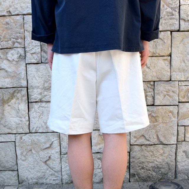 【2020 SS】Dead Stock(デッドストック)/ ITALIAN ARMY GURKHA SHORTS -WHITE-(4)