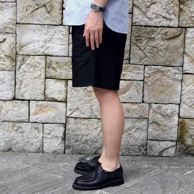 【2020】YAECA (ヤエカ)/ CLIMBING SHORTS -BLACK- #10602BLK(4)