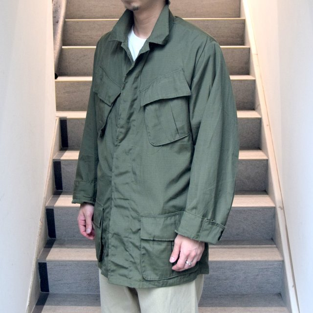 DEAD STOCK(デッドストック)/ 60s US ARMY ''JUNGLE FATIGUE JACKET'' 4th -OLIVE- #MILITARY265(4)