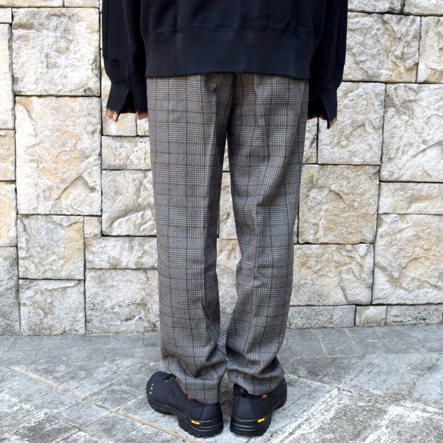 【2020】stein(シュタイン)/ WIDE TAPERED TROUSERS -GLEN CHECK- #ST178-2(4)
