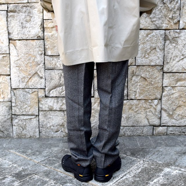 【2020】stein(シュタイン)/ WIDE TAPERED TROUSERS -HERRINGBONE- #ST178-2(4)