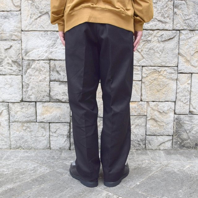 【2020】blurhms(ブラームス)/ SUPER SURGE WIDE SLACKS -BLACK- #BHS20F002(4)