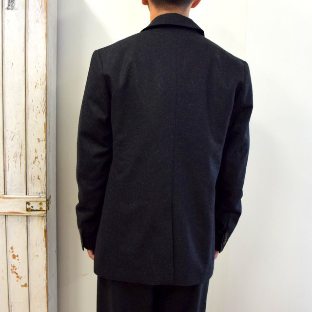 【2020】FRANK LEDER(フランクリーダー)/ LIGHT WEIGHT LODEN WOOL 2B JACKET -BLACK- #0122022(4)