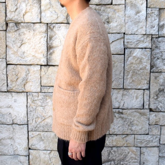 【2020】 AURALEE(オーラリー)/ ALPACA WOOL SUPER LIGHT KNIT BIG CARDIGAN -TOP BEIGE- #A20AC01AW(4)