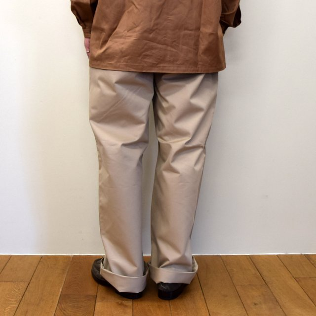 E. TAUTZ(イートウツ)/ FIELD TROUSER-BEIGE-  6311702009-BE(4)