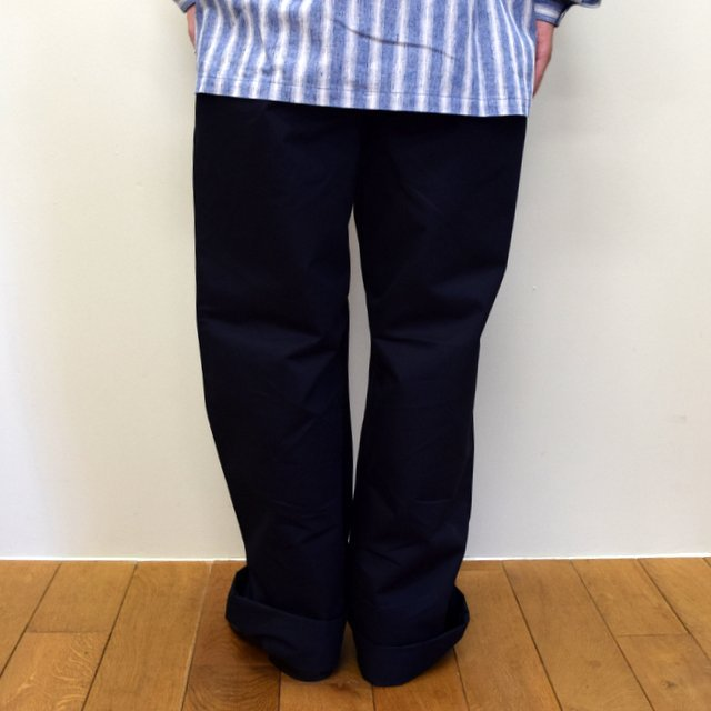 E. TAUTZ(イートウツ)/ FIELD TROUSER-NAVY-  6311702009-BE(4)