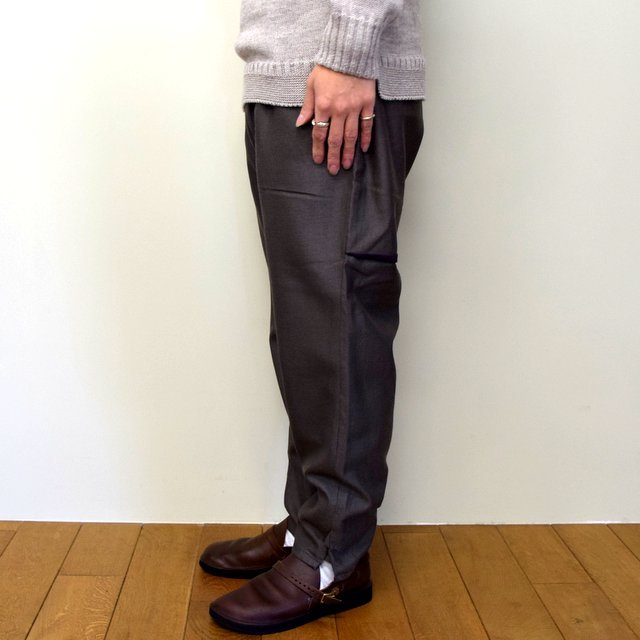 HOMELESS TAILOR(ホームレステイラー)/ HIP GUSSET PANTS -BROWN- #HTK-20F-010(4)