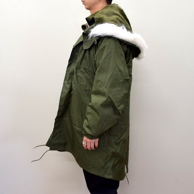 DEAD STOCK(デッドストック)/ US ARMY FISHTAIL PARKA -OLIVE- (4)