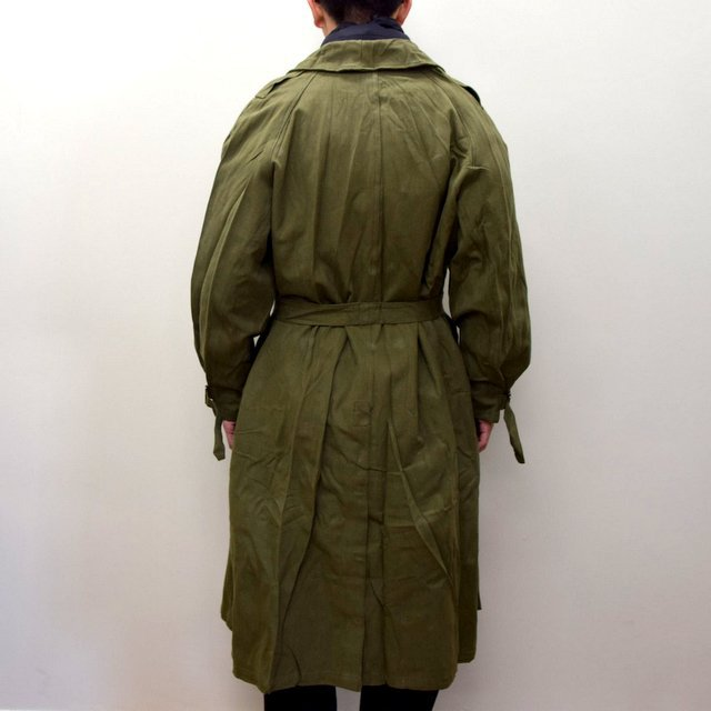 DEAD STOCK(デッドストック)/ FRENCH ARMY MOTORCYCLE COAT -OLIVE- #MILITARY300(4)