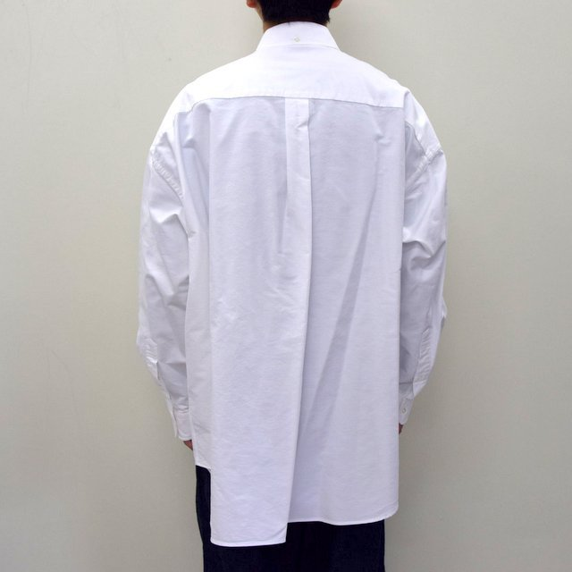 Graphpaper (グラフペーパー)/ OXFORD OVERSIZED B.D SHIRT -2色展開- #GM211-50113B(4)