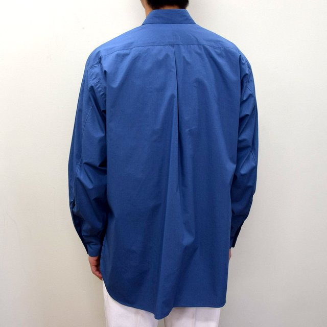 MARKAWARE(マーカウェア)/ COMFORT FIT SHIRT -CYAN BLUE- #A21A-07SH01C(4)