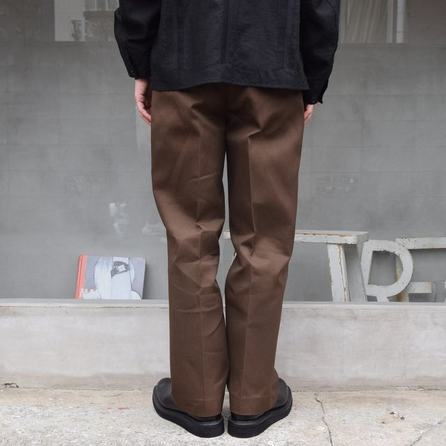 BROWN by 2-tacs (ブラウンバイツータックス)/ Straight slacks -BROWN- B25-P005(4)