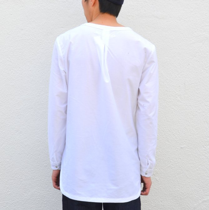 【30% OFF SALE】【17 SS】Curly(カーリー) HIGH GAUGE TWILL JERSEY -WHITE- #171-31032SD(5)