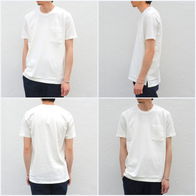 【17 SS】Curly(カーリー) BRIGHT SS POCKET TEE -2色展開- #172-04041(5)