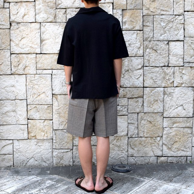 【30% off sale 】KAPTAIN SUNSHINE (キャプテンサンシャイン)/ SKIPPER SHIRT  -BLACK-#KS9SCS09(5)