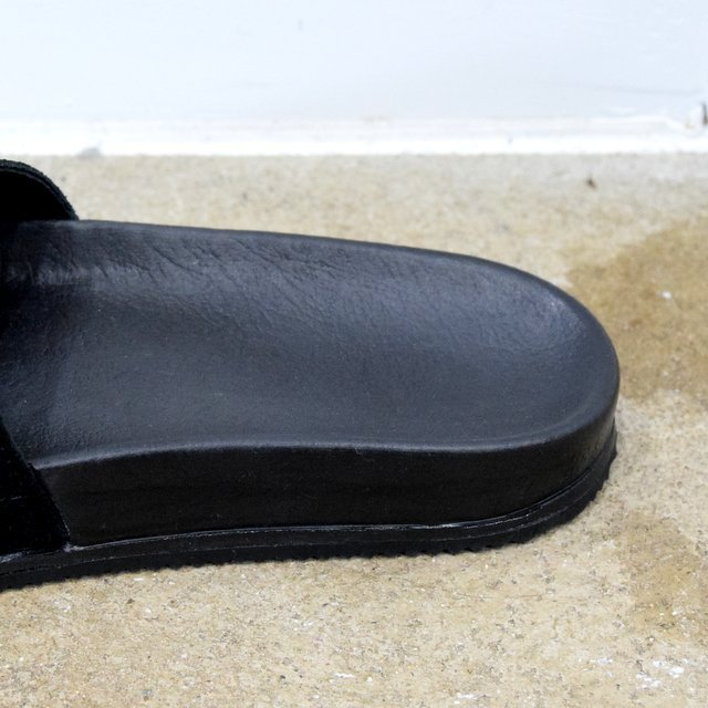 REPRODUCTION OF FOUND(リプロダクション オブ ファウンド)/ GERMAN MILITARY SANDALS -BLACK- #1738L(5)