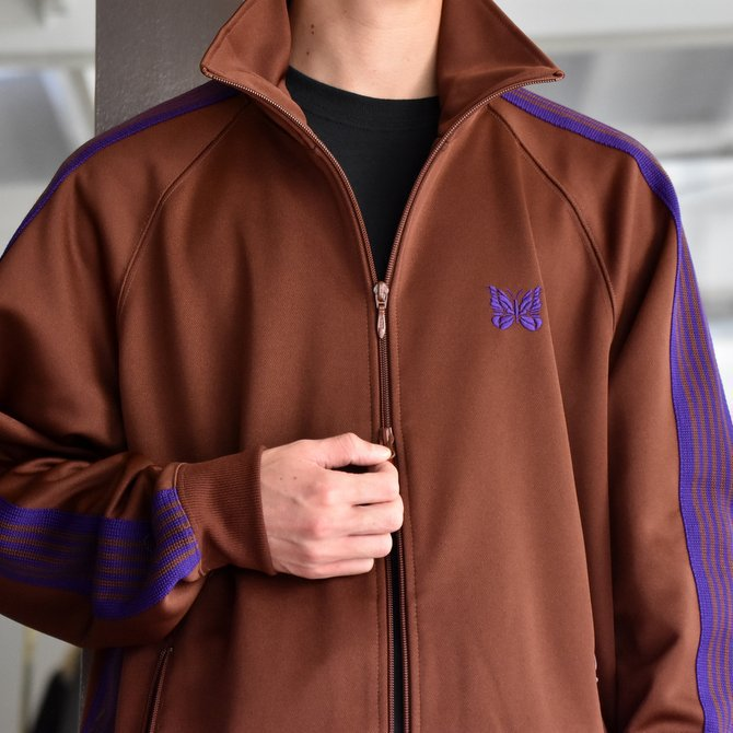 NEEDLES(ニードルス) TRACK JACKET-POLY SMOOTH-BROWN/#FK192(5)