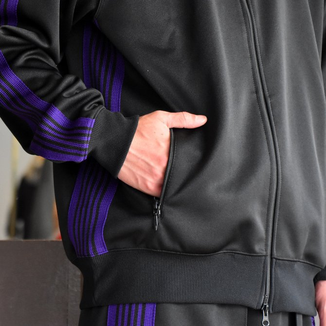 NEEDLES(ニードルス) TRACK JACKET-POLY SMOOTH-BLACK/#FK192(5)