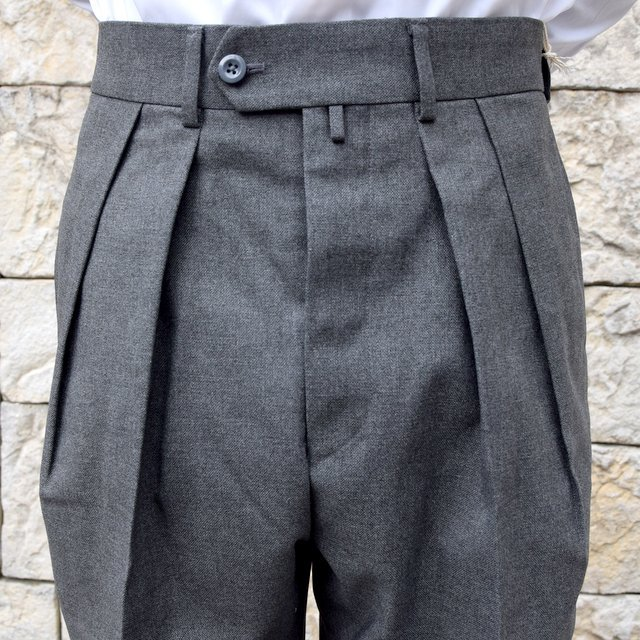 【2020 SS】NEAT(ニート)/ HOPSACK ''TAPERED'' -GRAY- #20-01HST-GR(5)
