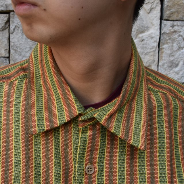 【2020 SS】FRANK LEDER(フランクリーダー) / COTTON SHIRT -YELLOW- #0836008(5)