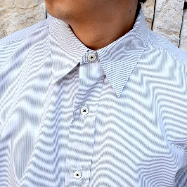 【2020】MAATEE&SONS(マーティーアンドサンズ)/REGULAR COLLAR SHIRT -GRAY- #MT0103-0601A(5)