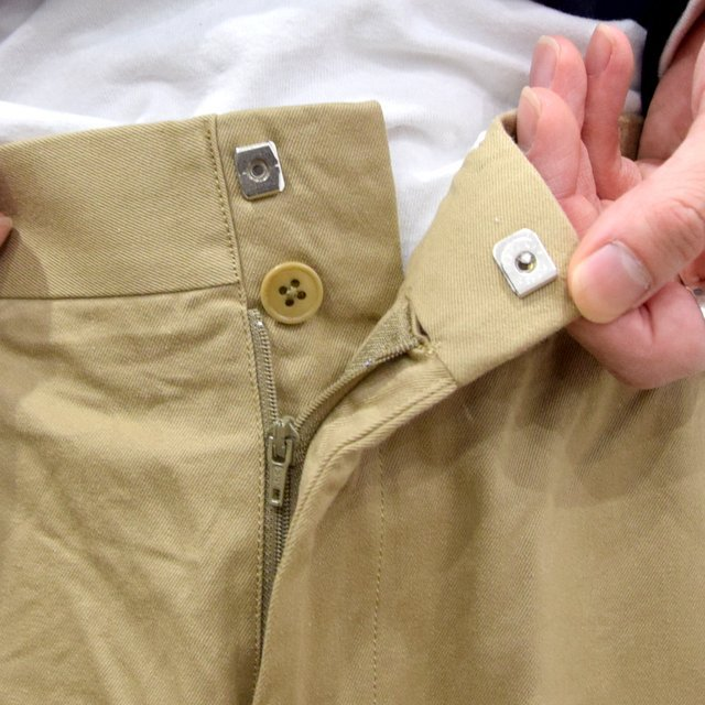 【2020】YAECA (ヤエカ)/ CHINO CLOTH PANTS CREASED -KHAKI- #10605(5)