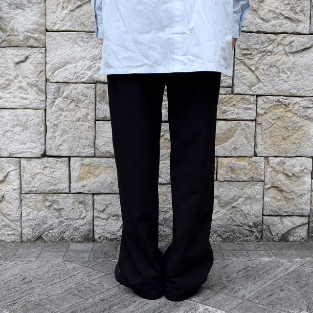【2020】AURALEE(オーラリー)/ FINX HARD TWIST GABARDINE PANTS -BLACK- #A20SP02FB(5)