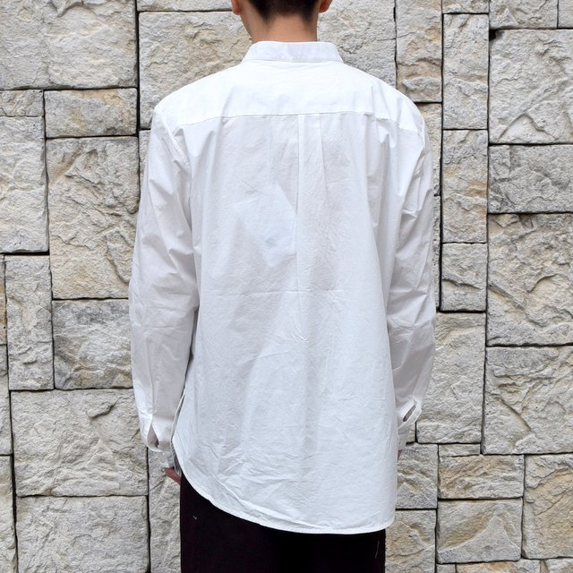 【2020 SS】 toogood(トゥーグッド)/ THE BOTANIST SHIRT POPLIN -CHALK- (5)