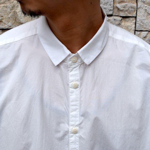 【2020】 toogood(トゥーグッド)/ THE DRAUGHTSMAN SHIRT POPLIN -CHALK- (5)