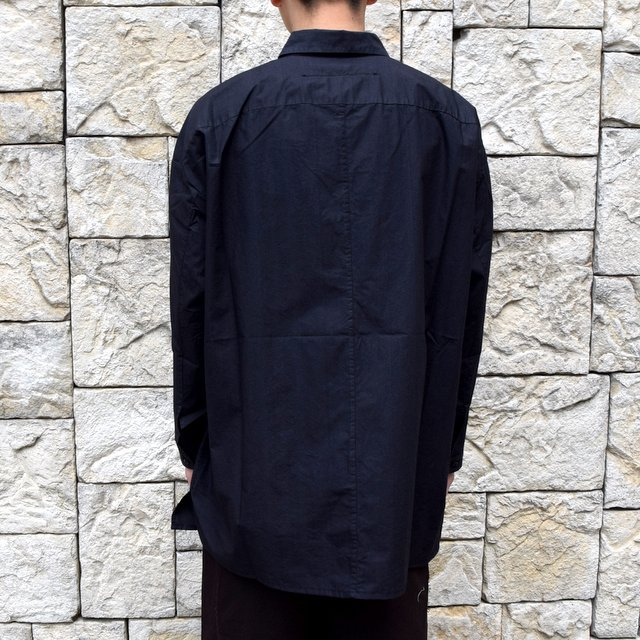 【2020】 toogood(トゥーグッド)/ THE DRAUGHTSMAN SHIRT POPLIN -FLINT- (5)