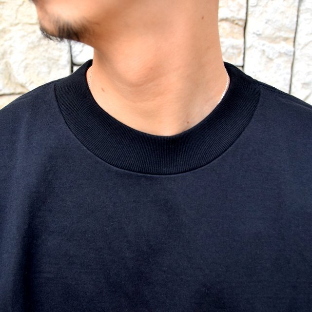 【2020 SS】AURALEE(オーラリー)/ STAND UP TEE -BLACK- #A20ST01SU(5)