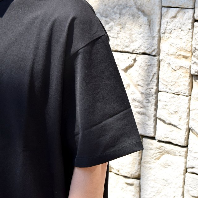 【2020】Graphpaper (グラフペーパー)/ Jersey S/S Tee -BLACK- #GM201-70148B(5)