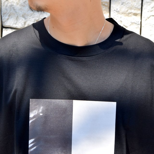 【2020 SS】stein(シュタイン)/ PRINT TEE ''TO COMPLETE'' -BLACK- #ST154(5)