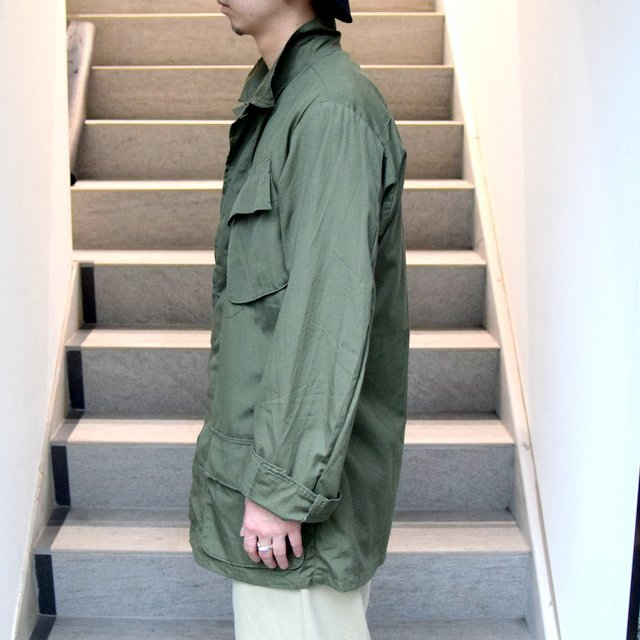 DEAD STOCK(デッドストック)/ 60s US ARMY ''JUNGLE FATIGUE JACKET'' 4th -OLIVE- #MILITARY265(5)