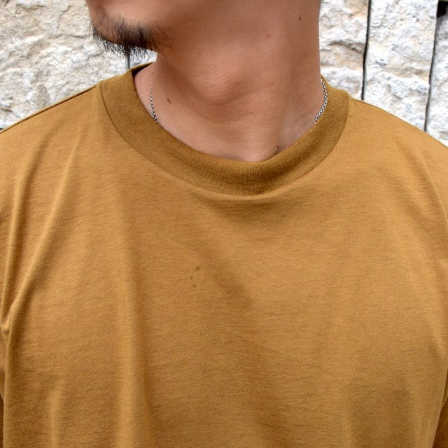 【2020】blurhms ROOTSTOCK(ブラームス) / SILK COTTON JERSEY L/S LOOSE FIT -CAMEL- #ROOTS-F206(5)