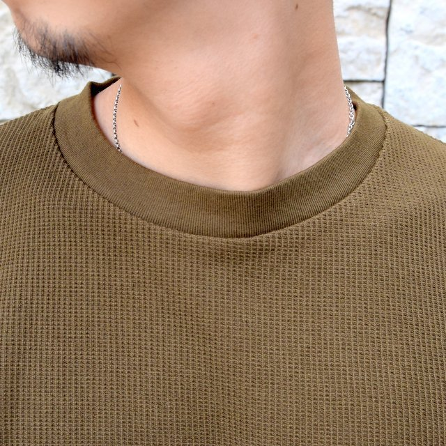 blurhms ROOTSTOCK(ブラームス) / Rough & Smooth Thermal -KHAKI BROWN-(5)